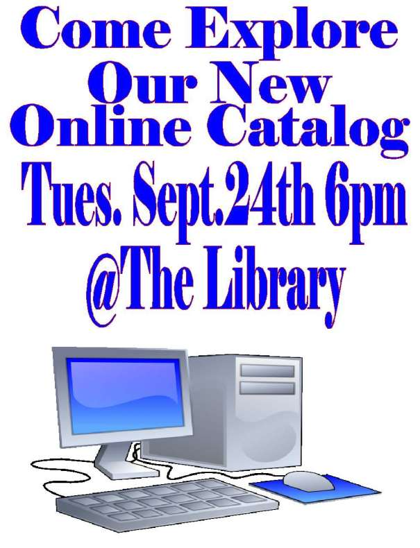 Come Explore our new online catalog