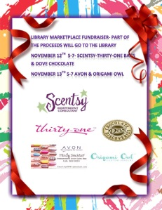 Library Marketplace Fundraiser 2 Night Event