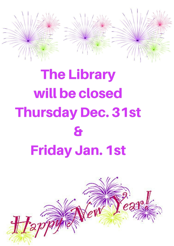 New years Closed